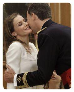 Rey Felipe sexto y Reina Letizia de España