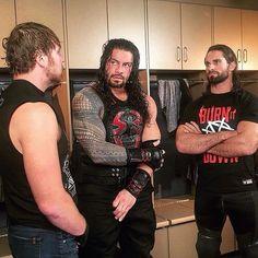 THE SHIELD #Brotherhood . #RomanReigns #WWERomanReigns #WWERomanReignsFan #RomanEmpire #RomanNukes #SamoanPowerhouse #SamoanBadass #SamoanDynasty #AnoaiStrong #AnoaiFamily #WWE #TheShield #TeamReigns #TheBloodLine #OneVersusAll #HitHardHitOften #ICanIWill #DeanAmbrose #SethRollins #SashaBanks #LegitBoss #SmackDownLive #AlexaBliss #AJStyles #BeckyLynch #WWENoMercy
