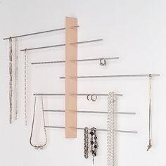 Wand-Schmuck-Display Mount / Schmuck Halter / von Wooddesigndforyou