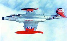 Avro CF-100 Canuck - Royal Canadian Air Force (RCAF), Canada