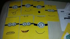 Minion Treat bags I made for my daughter's bday party.
