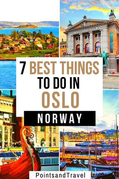 The best things to do in Oslo, Norway. Whether you are visiting Oslo in summer or winter, here are the must sees and do in Oslo. The Ultimate Oslo itinerary to explore Norway's capital Norway Travel Guide, Europe Travel Guide, Travel Guides, Budget Travel, European Destination, European Travel, Visit Oslo, Visit Norway, Lillehammer