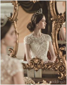 Wedding wedding aesthetic 18 Stunning Wedding Dresses with Dramatic Neckline Designs!