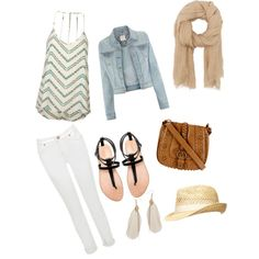 """Boho Chic Outfit"" by emmaloves1d4ever on Polyvore"