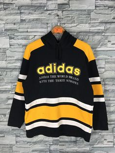 Excited to share the latest addition to my shop: Vintage ADIDAS Sweatshirt Medium Adidas Sportswear Run Dmc Three Stripes Crewneck Jumper Adidas Multicolour Pullover Hoodie Sweaters M Run Dmc, Retro Sweatshirts, Men's Hoodies, Adidas Retro, Adidas Three Stripes, Adidas Sportswear, Vintage Windbreaker, Vintage Jerseys, Sweater Hoodie