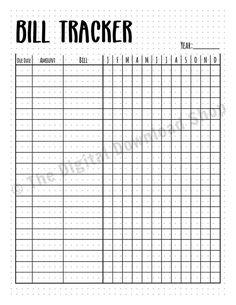Bullet Journal Bill Tracker Printable - All About Bullet Journal Inserts, Bullet Journal 2019, Bullet Journal Layout, Bullet Journal Ideas Pages, Bullet Journal Inspiration, Bullet Journal Year At A Glance, Journal Prompts, Bullet Journals, Journal Aesthetic