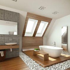 łazienki na poddaszu aranzacje 2016 - Szukaj w Google