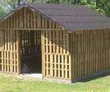 pallet shed ... or how about a pallet fence or divider for the yard