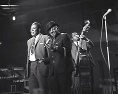Memphis Slim, Sonny Boy Williamson II and Willie Dixon