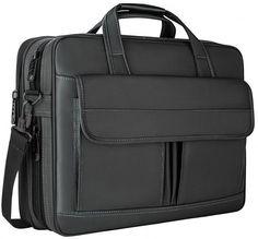 Briefcase Messenger Shoulder Bag for Men Women College Students Business People Office Wor Laptop Bag Leaf Pattern On Gray 15-15.4 Inch Laptop Case