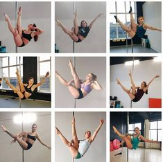 Pole Fitness Moves, Pole Dance Moves, Pole Dancing Fitness, Dance Tips, Dance Poses, Dance Lessons, Pole Dance Studio, Pool Dance, Pole Classes