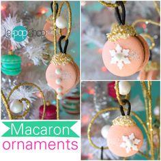 Macaron Cake, Macarons, Pink Christmas, Xmas, Le Pop, Sugar And Spice, New Pins, Jingle Bells, Pastel Pink