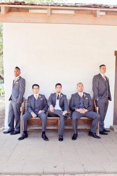 minus white vest on groom...