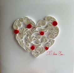 ©Thuy Trang - Quilled heart pictures (Searched by ChauKhang)
