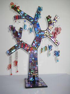 árbol porta bisuteria