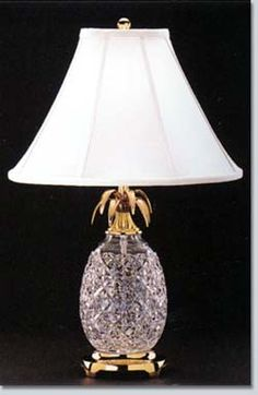 Gentil Waterford Crystal Table Lamp Hospitality Pattern   Available At  GrandLight.com