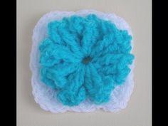 Popcorn Party Granny Square Crochet Tutorial - YouTube