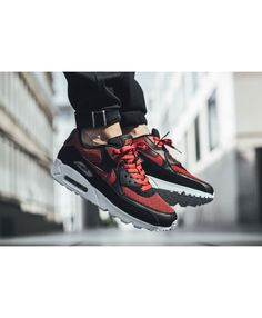 premium selection e636f 9d2c5 Cheap Nike Air Max 90 Essential Tough Red Trainers Latest Trainers, Red  Trainers, Air