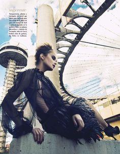 Vogue Latin America January 2013  Photographer: GL Wood  Model: Kasia Evokes