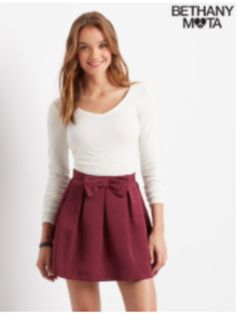 Bethany's clothing line at Aeropostale. Cute outfit also