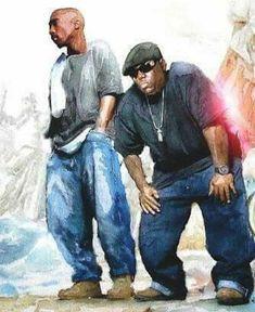 Rap Music And Hip Hop Culture Collection Hip Hop And R&b, Hip Hop Rap, Tupac Et Biggie, Arte Do Hip Hop, Art Beauté, Tupac Art, Rapper Art, Black Art Pictures, Black Love Art