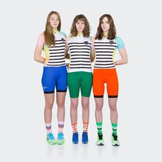 My friend @lex__505 (the model in the middle) wrote the description for the Sherbert Jersey. I just love it and her. Worth sharing as they sell out this little gem of writing will disappear:  In Chicago there is an 89 year old bright pink building that is home to the legendary Rainbow Cone. Serving up ice cream all summer long this classic establishment is known for its eponymous multi-layered cone that comes heaped with layers of Chocolate Strawberry Palmer House Pistachio and Orange…