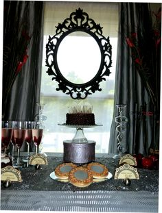 Evil Queen Cocktail Party... This would be a fun bridal shower for you :)