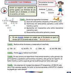 La división de números naturales (svplaredo.es) - Didactalia: material educativo