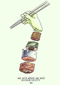 We Are What We Eat por Alejo Malia