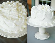 Paper Flowers & tutorial for decorating cakes