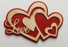 Wood Valentine Ideas, Valentine Crafts, Valentines, Scroll Saw Patterns, Wood Patterns, Wood Projects, Craft Projects, Projects To Try, Wooden Art