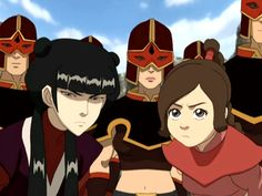 ty lee and mai, fav characters from avatar Avatar Zuko, Avatar Legend Of Aang, Legend Of Korra, Ty Lee, The Last Avatar, Avatar The Last Airbender Art, Mai And Zuko, Azula, Fire Nation