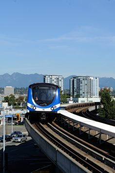 SkyTrain, Richmond, British Columbia, Canada