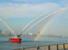 Detroit fire boat Curtis Randolph.