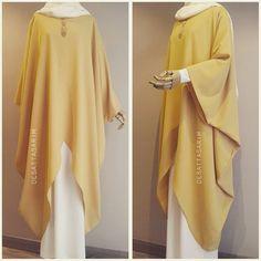 """613 mentions J'aime, 29 commentaires - Yasemin Deşat (@desattasarim) sur Instagram: """"Sari v tunik 250tl ekru salaş elbise 130tl ▫Bu ürün dış kıyafet olarak üretilmemiştir…"""""""