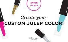 win this giveaway and create your own custom color!