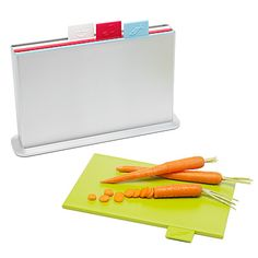 Index cutting boards, $60
