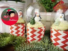 Mega geniale Schneekugel-Cupcakes zum Selbermachen!
