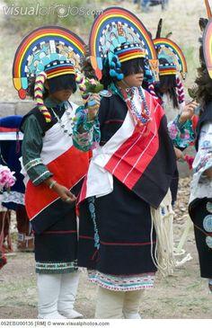 zuni Dancers | Mexico, Zuni Pueblo Dancers preforming traditional dances at Bandelier ...