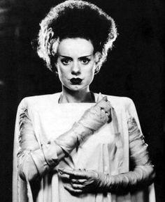 The Bride of Frankenstine costume ideas
