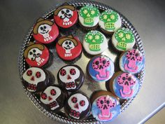 Day Of The Dead cupcakes | Flickr - Photo Sharing!