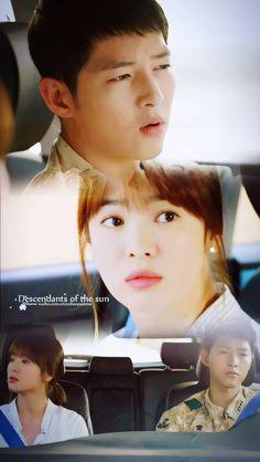 Descendants of the Sun. Song Hye Kyo, Song Joong Ki, Korean Drama Best, Korean Dramas, Descendants, I Fall In Love, Falling In Love, Decendants Of The Sun, Songsong Couple