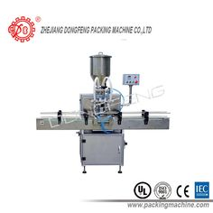 Double heads paste filling machine