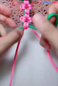 Amazing Ways of Braiding Ropes! Diy Home Crafts, Diy Arts And Crafts, Fun Crafts, Crafts For Kids, Paper Crafts, Sewing Hacks, Sewing Crafts, Crafty Craft, Diy Gifts