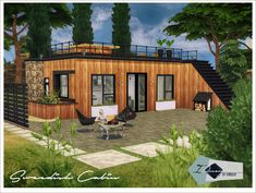 Swedish Cabin | Sims 4 Designs