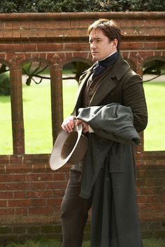 Mr. Clennam in Little Dorrit. He seems more heroic than Darcy and a whole lot more gentlemanly :)