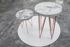 vincentburet_concete table_copper legs_marble effect_round side table_VIN_2863