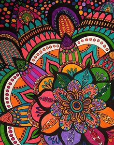 ColorIt Calming Doodles Volume 1 Colorist: Karen Beavers #adultcoloring #coloringforadults #adultcoloringpages #doodle