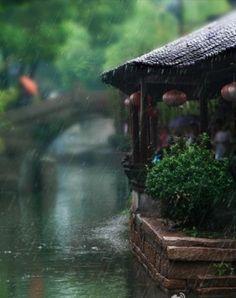 Japanese Tea House by lllllol