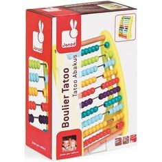 Janod Tatoo Abacus Novelty Gifts, Toy Store, Tatoos, Christmas 2015, Ideas, Thoughts, Tattos